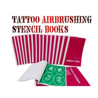 adhesive backed stencils - 120 Designs Self Adhesive Body Art Temporary Tattoo Airbrush Stencils Template Books of Butterfly and Animals Booklet