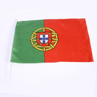 Wholesale Manufacturers supply world banner PE hand waving the flag banner on flag venue layout props banner OEM