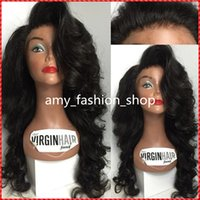 beautiful body skin - New Design Skin Top Natural Looking Human Hair Wigs Virgin beautiful wig
