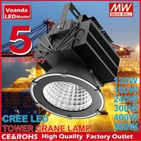 LED airport tower - outdoor Industrial lighting LED high bay light W W W W W W Tower crane lamp building spot light year warranty