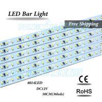 Wholesale leds m LED bar light smd V led rigid strip white warm white RGB under cabinet