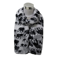 amazing elephants - Dec Amazing Spring Summer Lady Womens Long Cute Elephant Print Scarf Wraps Shawl Soft Scarves