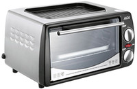 Wholesale Stainless steel mini electric oven bread baking oven minutes timing up and down heating pipe selection