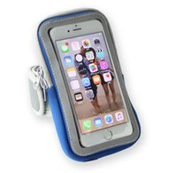 Wholesale For Iphone S Plus Armband Running Gym Sports Armband Phone Bag Holder Pouch cover with Zipper Pouch