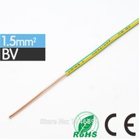 Wholesale High quality ZR BV mm Square Single Hard Wire Home Improvement Household Wiring Copper CE and RoHS Electronic Wire Conductor