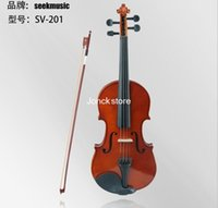 Wholesale seek violin size adult children preferred the lowest price sv201 fine violin Qin He