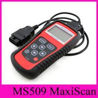 achat en gros de instruments yamaha-Détection véhicule défaut OBD2 HOT MaxiScan MS509 code Autel Scanner OBD II Diagnostic Instrument Instrument Code lecteur Outil de diagnostic de voiture
