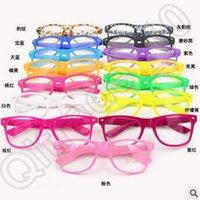 Cheap Hot Sunglasses Unisex Sunglasses Rivet Sunglasses Retro Color Unisex Punk Geek Style Clear Lens Glasses Beach Sunglasses CCA4602 500pcs