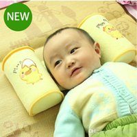 Wholesale Comfortable Cotton Anti Roll Pillow Lovely Baby Toddler Safe Cartoon Sleep Head Positioner Anti rollover
