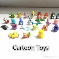 Wholesale Action Figures cartoon toys for Child cm cartoon toys Little Figurine Poke action figures Small Classic Pikachu B0359