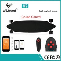battery powered wheel - Winboard w high speed hub motor in wheel lithium ion battery powered skateboard longboard with wireless remote control
