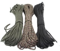 Wholesale 7 Core Strand FT Paracord Kit For Parachute Cord Bracelet Survival Kits Outdoor Climbing Camping Umbrella Rope