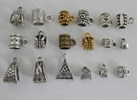 Wholesale 360pcs Mixed Silver Gold Bronze Connectors Spacer Bail Beads For Jewelry Making mm