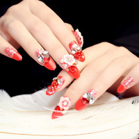 Wholesale Fashion finished friendly wedding charming mix Nail Art Stickers Beauty Finger Nails Decal DIY Decorations For Women Lady Girl set