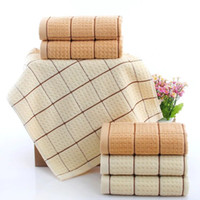 algodon cotton - 3Pcs x74cm New Arrival High Quality Cotton Face Hand Towel Toallas Algodon Super Soft Gift Towels