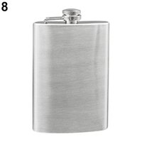 Wholesale New and hot Portable Oz Stainless Steel Hip Liquor Whiskey Alcohol Flask Cap