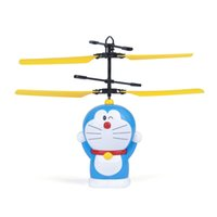 Wholesale aiqinqin Small doraemon music Aircraft Flying Minion Induction Helicopter Kid Baby Toys