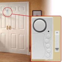 Wholesale Magnetic Sensor Wireless Door Window Home Security Entry Burglar Alarm System ZH402