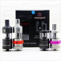 airs tall - STEAM CRAVE Aromamizer RDTA Clone Atomizers Adjustable Air Flow Juice capacity ml ml tall Tank Fit E Cigarette Mods