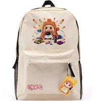 beauty school games - Himouto backpack Doma Umaru beauty girl school bag Umaru chan cartoon day pack Hot sale game daypack