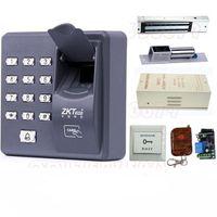 Wholesale Digital Electric RFID Reader Finger Scanner ZKT X6 Code System Biometric Fingerprint Access Control for Door Lock Home Security System
