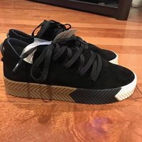 alexander black - 2016 Hot Sales Woman Man Fashion Skateboard Shoes Originals By Alexander Wand Casual Sneaker Shoes Platform Shoes