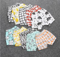 Wholesale 11 styles baby summer harem pants years INS hot cheap child shorts children s cartoon cotton PP pants in stock S1