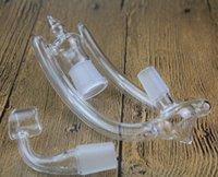 Bon Marché Cire .rig-Plus nouveau adaptateur bong en verre tuyau d'eau tuyau d'étanchéité pipe bong de verre tuyau d'eau cire d'installation pétrolière avec banger