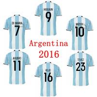 aguero soccer jersey - soccer jersey ARGENTINA MARADONA MESSI HIGUAIN KUN AGUERO DI MARIA TEVEZ DYBALA LAVEZZI camisetas futbol camisa de futebol maillot de foot