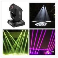 Wholesale 200W R Sharpy Beam Light Channel Moving Head Beam light Gobo Beam Effects with phase moter lens conbined LCD display