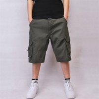 bermuda styles shorts - Mens Cargo Shorts Casual Cotton Multi Pocket Summer Man Short Pants Plus Size XL XL Bermuda Brand European American Style