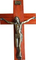 antique christian crosses - The Christian Holy Catholic crafts type color antique mahogany simple cross