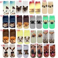 Wholesale More Styles D Emoji Pattern Socks Women and Big Kids D Socks Meias Feminina Funny Low Ankle Unisex Socks