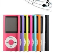 Wholesale brand New th Gen mp4 player built in GB memory inch screen with retail box free dhl