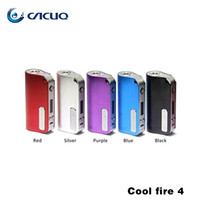 Precio de Mods fresco-Autentico Innokin CoolFire IV 40W Batería Mod. Innokin Cool Fire IV Express Kit 2000mAh Innokin Coolfire 4 Caja Mod Vape Mods