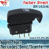auto lifter - Factory Direct Auto Power Window Switch with Pins for Mercedes Benz SCANIA POWER WINDOW SWITCH