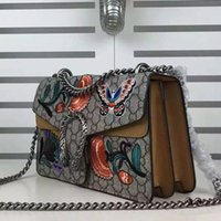 advanced configuration - 2016Hand embroidered bag Shoulder Bag Leather advanced metal configuration fashion luxury