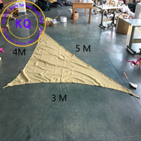 Wholesale Waterproof Sun Shade Sail x4x5 M Awnings Polyester fabrics UV PU Coated ropes AWNING CANOPY