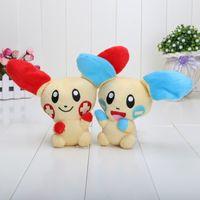 anode cathode - 5 quot Pikachu toys Pikachu anode and cathode rabbit couple plush doll