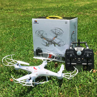 Wholesale X5C RC Drone Helicopter Quadcopter with HD Camera G Axis Remote Control Helicopter Drones