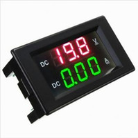Wholesale YB4835VA V A Double Display Voltmeter Current Meter Digital LED