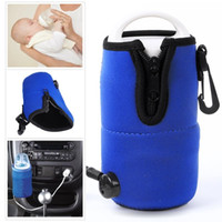 Wholesale Quickly Food Milk Travel Cup Warmer Heater Portable DC V in Car Baby Bottle Heaters