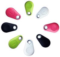 Wholesale 2016 Mini Smart Tag Bluetooth Tracker Child Bag Wallet Key Finder GPS Locator Alarm Colors