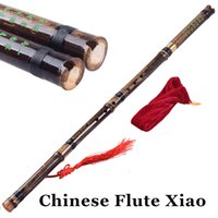 Wholesale Traditional Chinese Bamboo Flute Xiao Holes Vertical Bambu Flauta Wind Musical Instruments Ethnic instrumento Handmade Gifts