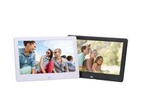 achat en gros de album mp3 image-10 pouces HD écran large cadre photo numérique Album photo Haute résolution MP3 MP4 Movie Player réveil avec télécommande