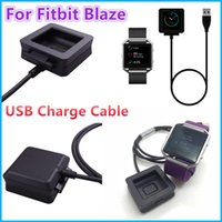 Wholesale Charging Cable Charger Power Adapter Dock Cradle Cord Wire For Fitbit Blaze Wristband Bracelet VS DZ09 U8 Fitbit Silicone Strap