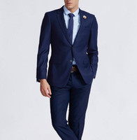 Where to Buy Slim Fit Royal Blue Men S Suit Online? Where Can I