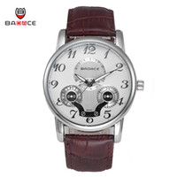 arrival belt buckles - New Arrival Modern Fashion Luxury Style High Quality Round Case Leather Belt Badace Casual Quartz Watches
