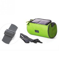 Wholesale Waterproof Mountain Bicycle Front Frame Pannier Cycling Bags Double Pouch For Cell Phone Wallet Holder