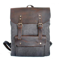 Cheap Thick Leather Backpack | Free Shipping Thick Leather ...